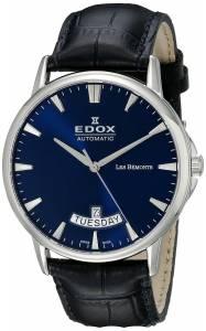 [エドックス]Edox  Les Bemonts Analog Display Swiss Automatic Blue Watch 83015 3 BUIN メンズ