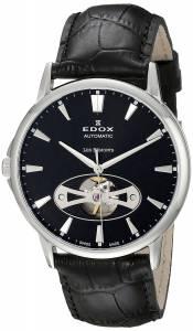 [エドックス]Edox  Les Bemonts Analog Display Swiss Automatic Black Watch 85021 3 NIN メンズ