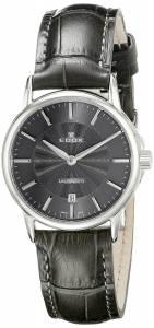 [エドックス]Edox  Les Bemonts Analog Display Swiss Quartz Grey Watch 57001 3 GIN