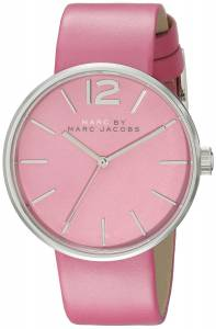 [マーク ジェイコブス]Marc by Marc Jacobs  Analog Display Analog Quartz Pink Watch MBM1363