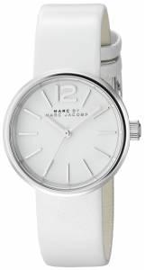 [マーク ジェイコブス]Marc by Marc Jacobs Analog Display Analog Quartz White Watch MBM1367