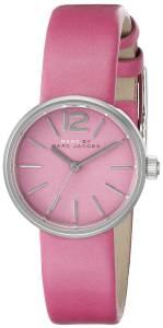 [マーク ジェイコブス]Marc by Marc Jacobs  Analog Display Analog Quartz Pink Watch MBM1369