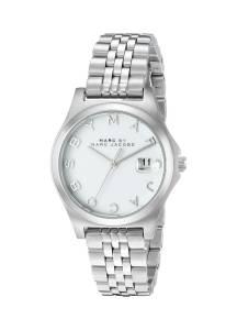 [マーク ジェイコブス]Marc by Marc Jacobs  SilverTone Stainless Steel Watch MBM3410