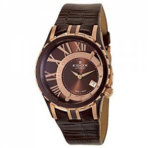 [エドックス]Edox  Grand Ocean Automatic Automatic Watch 370081357BRRBRIR 37008-1-357BRR-BRIR