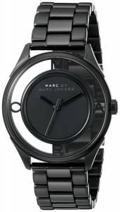 [マーク ジェイコブス]Marc by Marc Jacobs Tether Analog Display Analog Quartz Black MBM3415