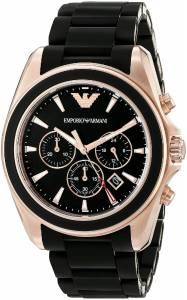 [エンポリオアルマーニ]Emporio Armani Sportivo Rose GoldTone Stainless Steel Watch AR6066