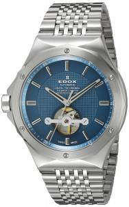 [エドックス]Edox  Delfin Analog Display Swiss Automatic Silver Watch 85024 3M BUIN メンズ