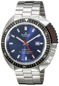 [エドックス]Edox  Hydro Sub Analog Display Swiss Automatic Silver Watch 80301 3NM BUIN