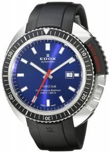 [エドックス]Edox  Hydro Sub Analog Display Swiss Automatic Black Watch 80301 3NCA BUIN