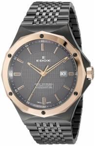 [エドックス]Edox  Delfin Analog Display Swiss Quartz Grey Watch 53005 37GRM GIR メンズ