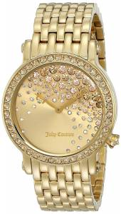 [ジューシークチュール]Juicy Couture  La Luxe Analog Display Quartz Gold Watch 1901280