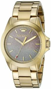 [ジューシークチュール]Juicy Couture  Malibu Analog Display Quartz Gold Watch 1901285