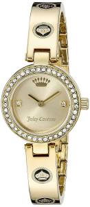 [ジューシークチュール]Juicy Couture  Cali Analog Display Quartz Gold Watch 1901287