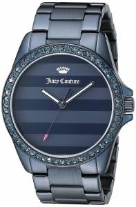 [ジューシークチュール]Juicy Couture  Laguna Analog Display Quartz Blue Watch 1901292
