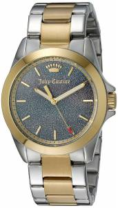 [ジューシークチュール]Juicy Couture  Malibu Analog Display Quartz Two Tone Watch 1901286
