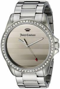 [ジューシークチュール]Juicy Couture  Laguna Analog Display Quartz Silver Watch 1901288