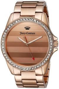 [ジューシークチュール]Juicy Couture Laguna Analog Display Quartz Rose Gold Watch 1901290
