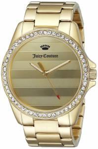 [ジューシークチュール]Juicy Couture  Laguna Analog Display Quartz Gold Watch 1901289