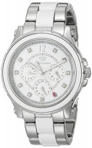 [ジューシークチュール]Juicy Couture Hollywood Analog Display Quartz Silver Watch 1901304