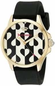 [ジューシークチュール]Juicy Couture Daydreamer Analog Display Quartz Black Watch 1901307