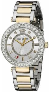 [ジューシークチュール]Juicy Couture  Cali Analog Display Quartz Two Tone Watch 1901322