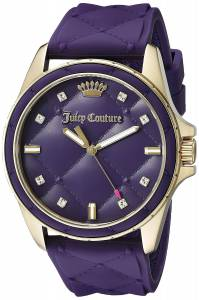 [ジューシークチュール]Juicy Couture  Malibu Analog Display Quartz Purple Watch 1901316