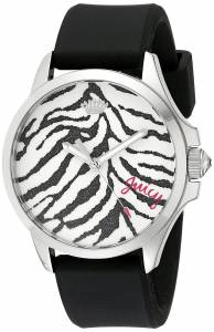 [ジューシークチュール]Juicy Couture Daydreamer Analog Display Quartz Black Watch 1901323