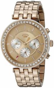 [ジューシークチュール]Juicy Couture Venice Analog Display Quartz Rose Gold Watch 1901324