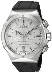 [エドックス]Edox  Delfin Analog Display Swiss Quartz Black Watch 10107 3CA AIN メンズ