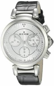 [エドックス]Edox  LaPassion Analog Display Swiss Quartz Black Watch 10220 3C AIN