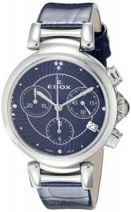 [エドックス]Edox  LaPassion Analog Display Swiss Quartz Blue Watch 10220 3C BUIN