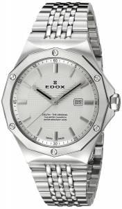 [エドックス]Edox  Delfin Analog Display Swiss Quartz Silver Watch 54004 3M AIN レディース