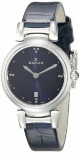 [エドックス]Edox  LaPassion Analog Display Swiss Quartz Blue Watch 57002 3C BUIN