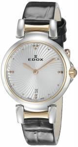 [エドックス]Edox  LaPassion Analog Display Swiss Quartz Black Watch 57002 357RC AIR