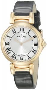 [エドックス]Edox  LaPassion Analog Display Swiss Quartz Black Watch 57002 37RC AR