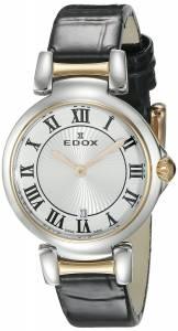 [エドックス]Edox  LaPassion Analog Display Swiss Quartz Black Watch 57002 357RC AR