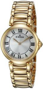 [エドックス]Edox  LaPassion Analog Display Swiss Quartz Rose Gold Watch 57002 37RM AR