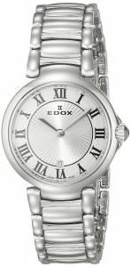 [エドックス]Edox  LaPassion Analog Display Swiss Quartz Silver Watch 57002 3M AR