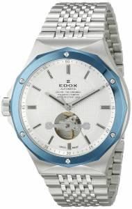 [エドックス]Edox  Delfin Analog Display Swiss Automatic Silver Watch 85024 3BUM AIN メンズ