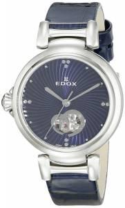 [エドックス]Edox  LaPassion Analog Display Swiss Automatic Blue Watch 85025 3C BUIN