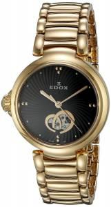 [エドックス]Edox  LaPassion Analog Display Swiss Automatic Rose GoldTone Watch 85025 37RM NIR
