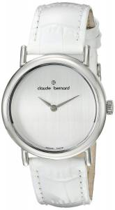 [クロードベルナール]claude bernard Dress Code Analog Display Swiss Quartz White 21216 3P A