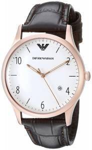 [エンポリオアルマーニ]Emporio Armani Dress Analog Display Analog Quartz Brown Watch AR1915