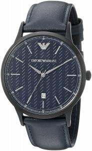 [エンポリオアルマーニ]Emporio Armani Dress Analog Display Analog Quartz Blue Watch AR2479