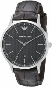 [エンポリオアルマーニ]Emporio Armani Dress Analog Display Analog Quartz Brown Watch AR2480