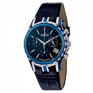[エドックス]Edox  Grand Ocean Chronolady Quartz Watch 10410357BBUIN 10410-357B-BUIN
