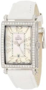 [ジェビル]Gevril  Mini Quartz Avenue of Americas White Diamond Watch 7249NV レディース