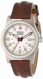 [ウェンガー]Wenger Swiss Military  Classic Field Stainless Steel Military Watch 72920