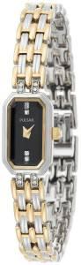 [パルサー]Pulsar 腕時計 Crystal TwoTone Watch PEX539 レディース [並行輸入品]