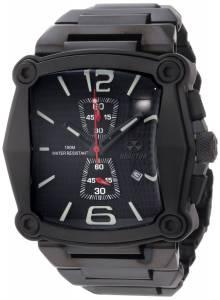 [リアクター]REACTOR  Nucleus Chronograph Black Coral Dial Black Nitride Plated Watch 57501